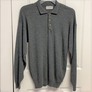 IZOD Pull Over Sweater Size XL Gray